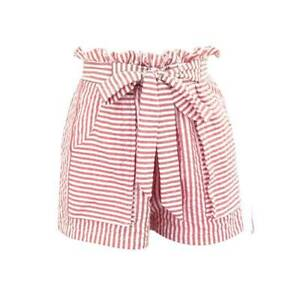 Ladie Paperbag Shorts Summer Beach High Waist Loose Casual Holiday Hot Pants New