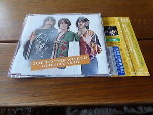 THREE DOG NIGHT Joy To The World CD single 1970 Japan obi strip 2002 MCA