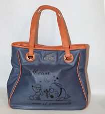 Borsa Hoy Collection blu arancione grande