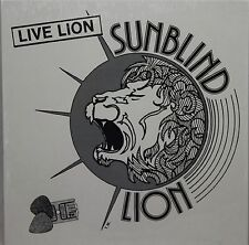 33 LP Sunblind Lion ‎– Live Lion  Homegrown Records SL04a-X USA 1980