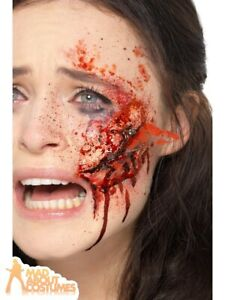 Latex Glass Wound Prosthetic Scar FX Make Up Zombie Halloween Fancy Dress
