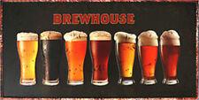 Metal Tin Sign brewhouse   Bar Pub Home Vintage Retro Poster Cafe ART