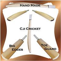 Custom Senior Plain Hand Made English Willow Cricket Bat - Various Weights