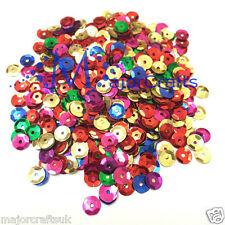 5000pcs 50g Colores Mezclados 6-7mm redonda suelta Pvc Sew-on Copa Lentejuelas Paillette