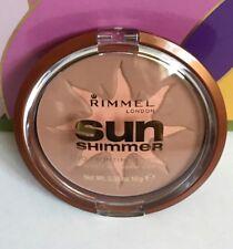 RIMMEL 'SUN SHIMMER' Duo Bronzing  powder 001 BLONDE 10g