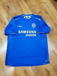 Chelsea football jersey home shirt 2005-2006 size XL