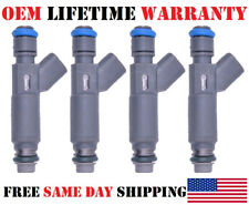 Set of 4 Genuine Denso Fuel Injectors for 2005-08 Saturn Pontiac Chevy 2.2L 2.4L