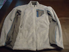 MENS SALOMON ACT THERM HIGH LOFT FLEECE JACKET  XXL  SILVER  NWOT