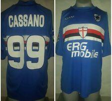 MAGLIA SAMPDORIA 99 CASSANO CALCIO FOOTBALL MAILLOT JERSEY TRIKOT SOCCER SHIRT