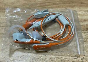 Genuine Bose Soundsport In Ear Sport Headphones Earphones Orange/grey