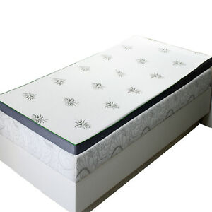Abripedic 2.5 Inches Cool Best Gel Infused Memory Foam Mattress Topper Bed Room