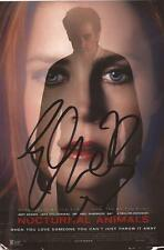 NOCTURNAL ANIMALS* ELLIE BAMBER SIGNED 6x4 POSTER PHOTO+COA