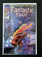 OFFICIAL MARVEL INDEX TO FANTASTIC FOUR #2 MARVEL COMICS 1986 VF+