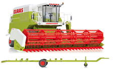 WIKING 1:32 SCALE CLAAS COMMANDOR 116 CS COMBINE HARVESTER WITH HEADER TRAILER