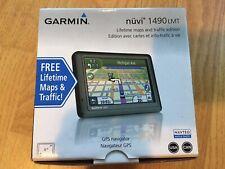 Garmin nuvi 1490 LMT Lifetime maps traffic edition GPS USA CAN Used