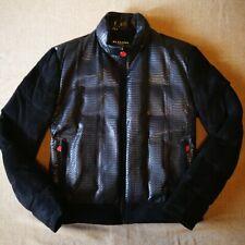 Kiton snakeskin leather Jacket  size52