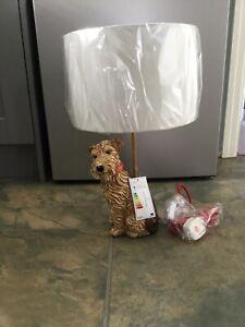 BNIB Cath Kidston Stanley Terrier Dog Lamp