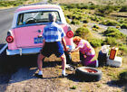 Old Couple Changing Tire Funny Anniversary Card Greeting Card by Avanti Press photo