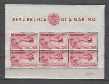 s31975) SAN MARINO 1961 MNH** Elicottero BF - S/S Siglato