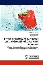 Effect of Different Fertilizers on the Growth of Capsicum annuum: Effect of Orga