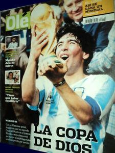 FIFA WORLD CUP Mexico 1986 ARGENTINA CHAMPION - MARADONA - Ole Special magazine