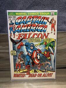 Captain America #154 | 1st Full App Jack Monroe, Nomad | 1972