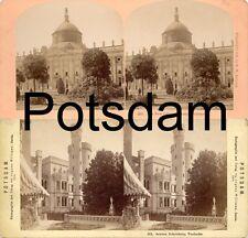 18 STEREOFOTOS VON POTSDAM UM 1900, SERIE 1