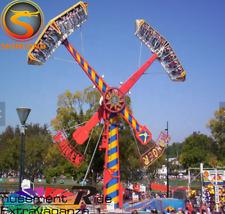 16 Person Amusment Theme Park Rides Carnival Rotation Bounce Fair