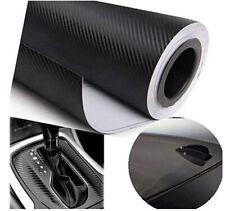 Black Carbon Fiber Vinyl Wrap Free Bubble Release 3d Carbon Fiber Premium Wrap
