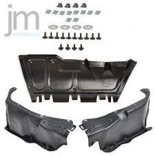 3x Unterfahrschutz Mitte R+L Einbausatz Clips AUDI A3 SEAT Leon SKODA VW Golf IV