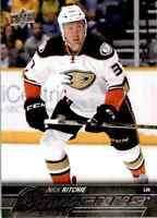 2015-16 Upper Deck Young Guns Nick Ritchie Rookie #496