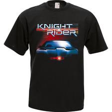 KNIGHT RIDER Classic Retro Movie TV Series Black Men's T-Shirt Tee