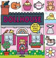 Lift-the-Flap Tab: Dollhouse (Lift-the-Flap Tab Books) by Roger Priddy