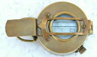 Vintage Collectible Decor Antique Nautical Brass Military Compass Replica Gift