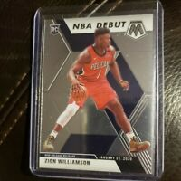 2019-20 Panini Mosaic Zion Williamson Rookie NBA Debut RC #269