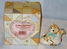 "Vintage Calico Kittens ""Celebrate Every Baby Step "" Mib"