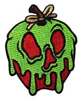 Disney Snow White Iron On Patch - Seven Dwarfs Evil Poison Apple Villain - 122-P