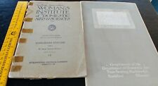 """2 Manuals """"Woman's Institute of Domestic Arts & Sciences"""" Sewing, Embroidery."""
