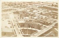 Fort Lewis WA~Aerial: Headquarters Fort Lewis Army Base~1940s Real Photo~RPPC