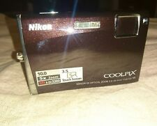 Fotocamera Nikon Coolpix S60 touch screen