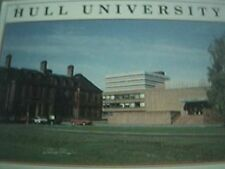 postcard used hull university front view