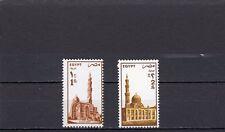 A127-Egypte-SG1588-1589 neuf sans charnière 1985 mosquées-valeurs élevées