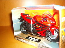 NEWRAY HONDA CBR 600RR MOTORCYCLE-SCALE 1:18 - RED WITH BLACK DESIGNS