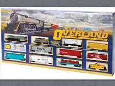 BACHMANN 1/87 HO SCALE OVERLAND LIMITED TRAIN SET ITEM # 614  NEW FACTORY SEALED