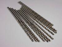 "Taper Length Drills 3/16"" HSS 118° 3-3/8"" x 5-3/4"" 49312 (11 Pcs)"