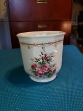 Liette International Flower Vase Hand decorated in United States