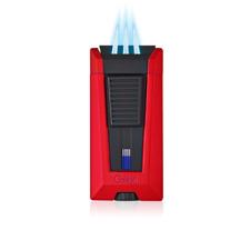 NEW Colibri Stealth Triple Jet Flame Lighter Cigar Lighter Boxed RED