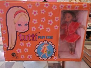 Mattel 1965 Tutti Doll, Case and Clothes