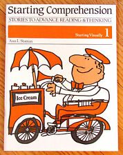 STARTING COMPREHENSION 1 Visually Stories to Advance Reading Thinking LK NEW