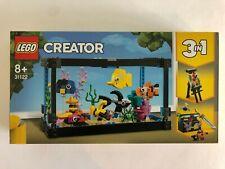 LEGO Creator 3 in 1 - 31122 - Fish Tank - New & Sealed - FREE UK P+P